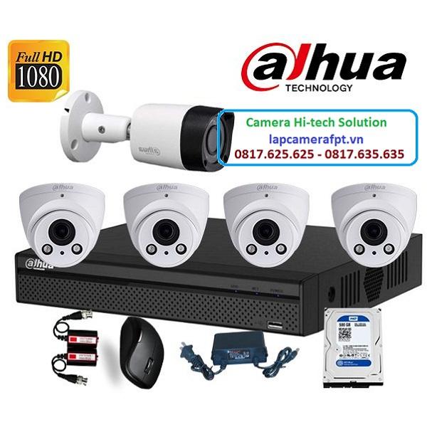 Bộ 5 camera Dahua