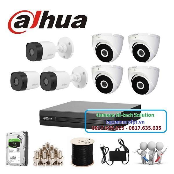 Bộ 7 camera Dahua