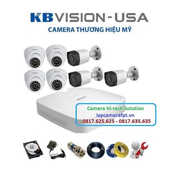Bộ 7 camera Kbvision