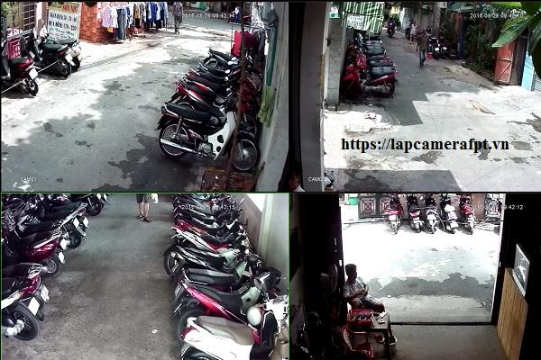 Giải pháp lắp đặt camera quan sát cho bãi giữ xe, bãi đậu xe
