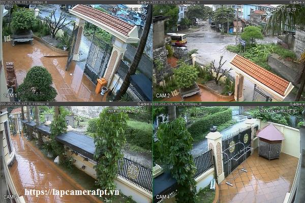 Quy trình lắp đặt camera quan sát ở khu dân cư Trung Sơn ?