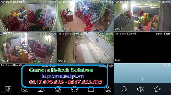 Lắp Đặt Camera giám sát ở quận 12