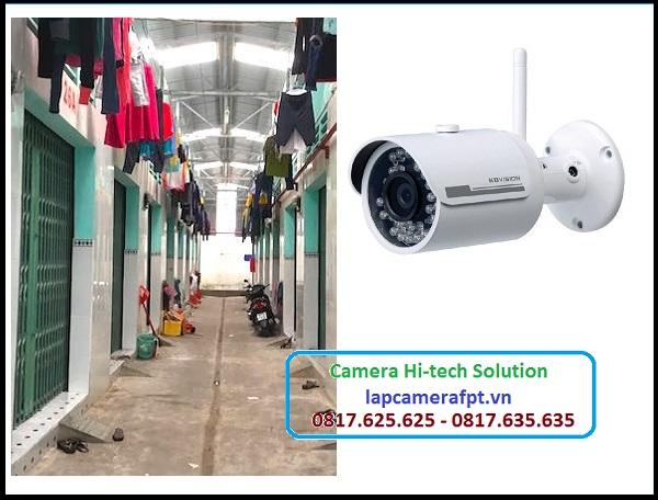 Lắp đặt hệ thống camera quan sát ở quận 10