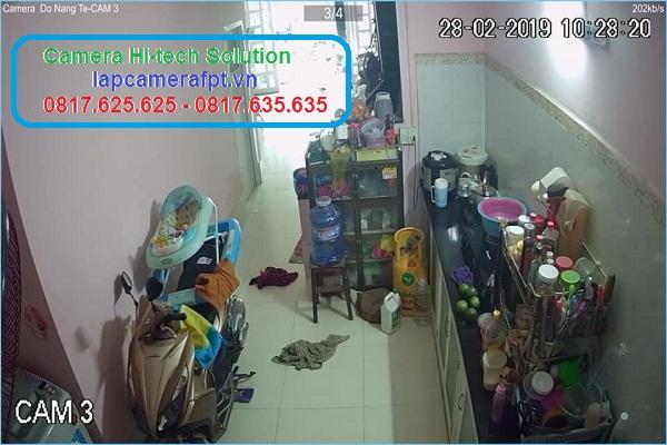 Lắp Đặt Camera Thủ Dầu Một Hình Ảnh Trong Nhà