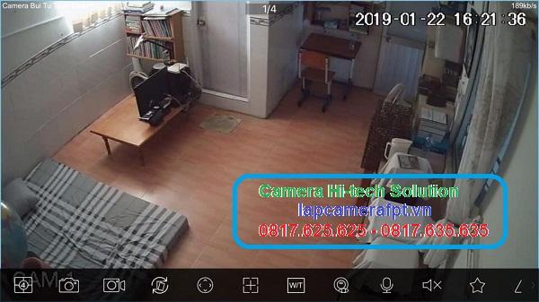 Lắp đặt camera quan sát ở Thái Bình