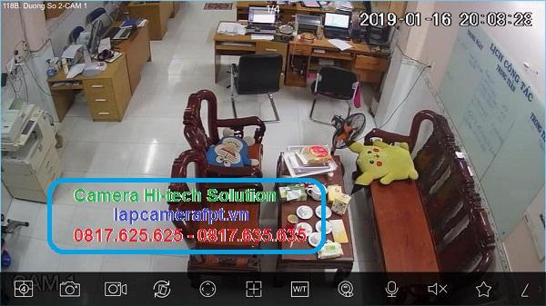 Lắp Đặt Camera an ninh ở Thái Bình