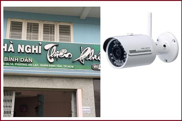 Lắp đặt camera ở quận Bình Tân