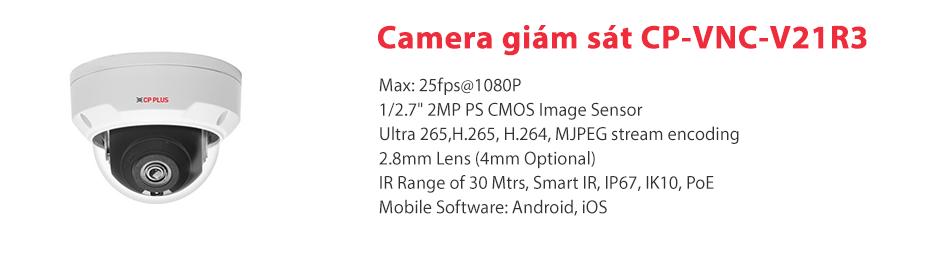 Giới thiệu vềCamera CP-VNC-V21R3