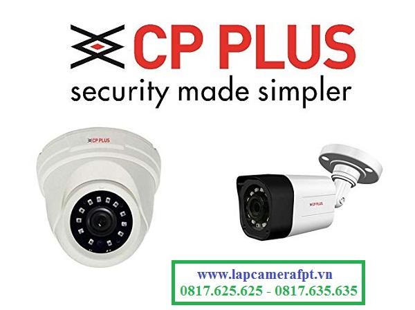 Muốn lắp đặt camera CP Plus cần làm như thế nào