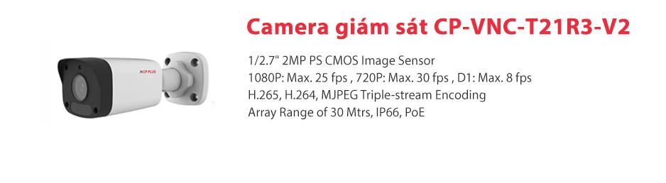 Giới thiệu vềCamera IP CP-VNC-T21R3-V2