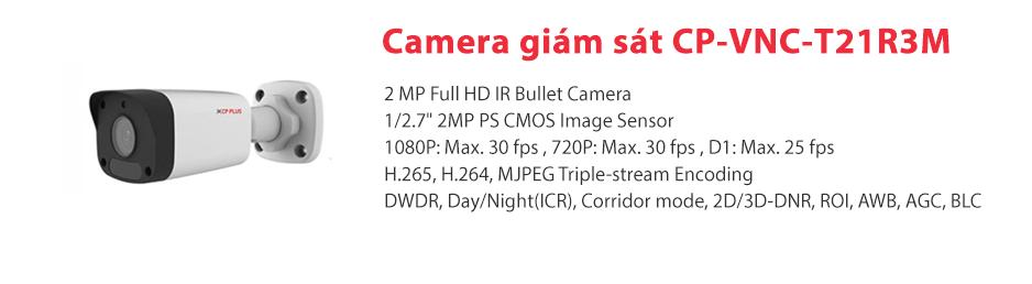Giới thiệu vềCamera IP CP-VNC-T21R3M