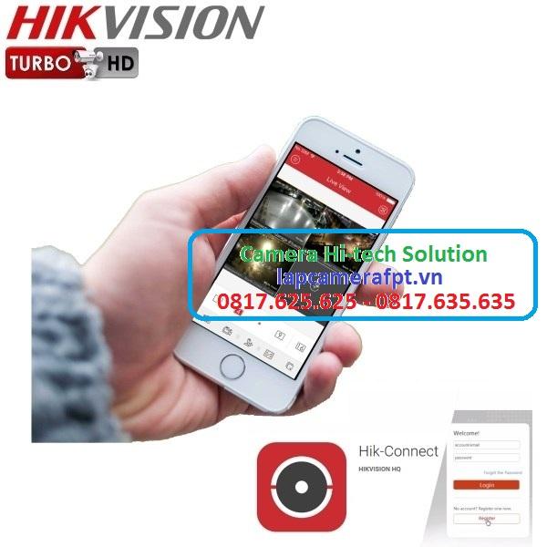 Camera Hikvision tích hợp hồng ngoại coi cả ngày và đêm 24/24