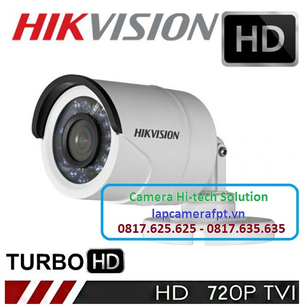 Camera Hikvision DS-2CE16C0T-IRP có các thông số cơ bản