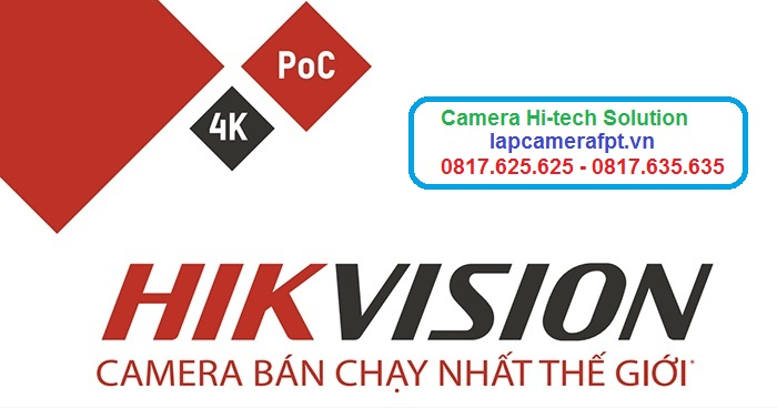 camera hikvision bán chạy số 1 thế giới
