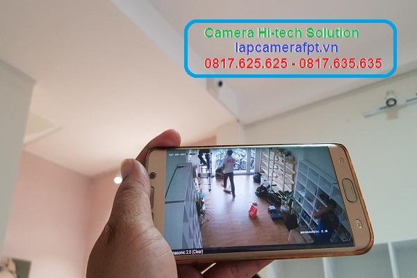 định vị kẻ gian với camera hikvision