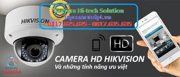 Camera Hi-tech Solution là nơi bán camera Hikvision giá rẻ nhất tại TPHCM