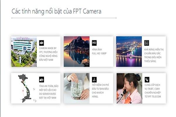 Các tính năng nổi bật của Fpt camera