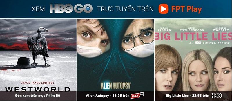 Gói HBO GO Thời hạn 1 tháng trên Fpt Play