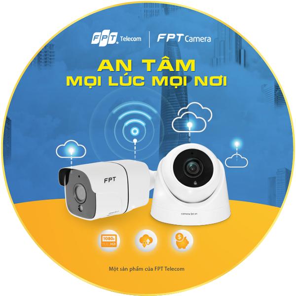 Camera Fpt gắn trong nhà