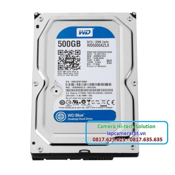 Ổ cứng HDD Western 500Gb Blue