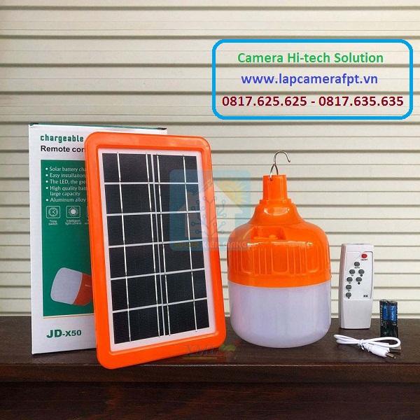 Đèn Bulb tích điện sử dụng năng lượng mặt trời