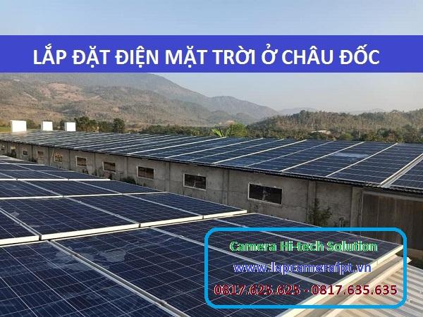 Lắp đặt năng lượng mặt trời tại Châu Đốc