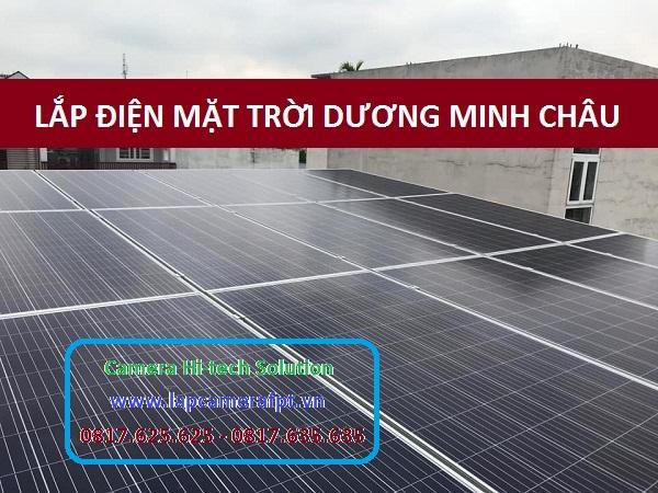 Lắp Đặt Điện Năng Lượng Mặt Trời Ở Huyện Dương Minh Châu