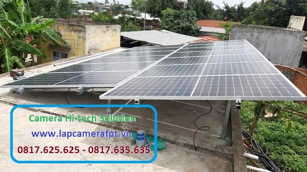 Hệ thống điện mặt trời ở Tây Ninh
