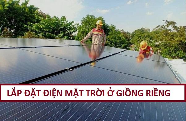 Lắp Đặt Điện Năng Lượng Mặt Trời ở Huyện Giồng Riềng