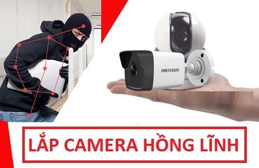Dịch vụ lắp camera Hồng Lĩnh