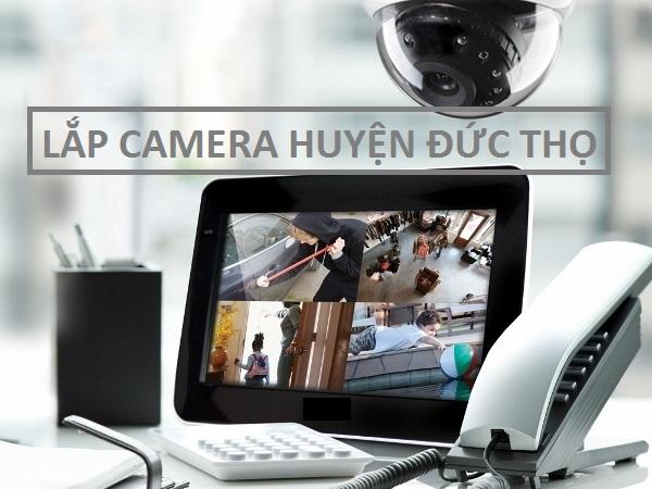 Lắp đặt camera huyện Đức Thọ