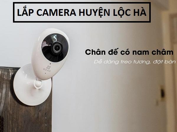 lắp camera huyện Lộc Hà giá rẻ