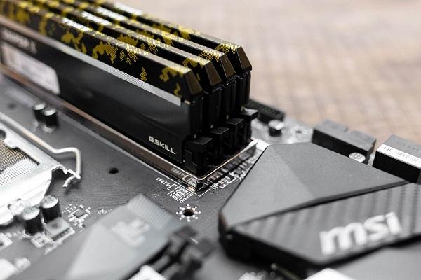 bo mạch chủ hỗ trợ RAM DDR4