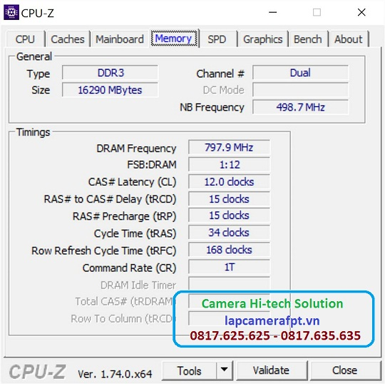 Kiểm tra RAM đang sử dụng trên laptop